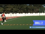 Football coaching video - soccer drill - ladder coordination (Brazil) 2