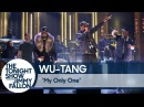 Wu-Tang Clan исполнили живьем трек My Only One на шоу The Tonight Show Starring Jimmy Fallon. 2017 г.