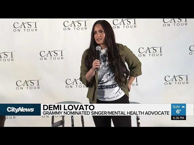 Free mental health counselling for Demi Lovato fans