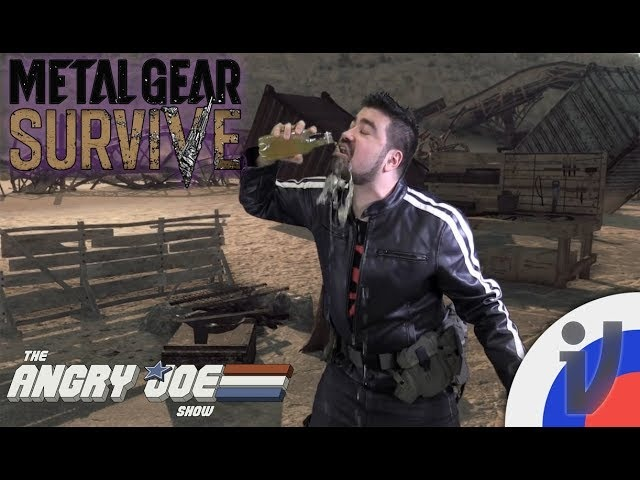 Angry Joe - Metal Gear Survive (RUS VO)