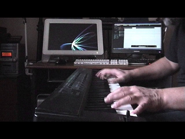 Piano Jazz-Rock Solo. Time In, Time Out