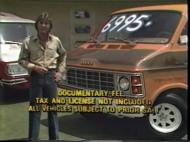 1979 La Habra Dodge Van Commercial