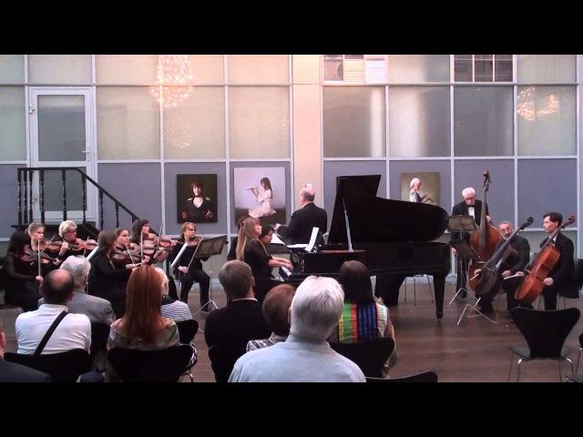 И.С.Бах/J.S.Bach,Концерт А-Dur BWV1055 МКО CANTUS FIRMUS,А.Хургин,Т.Николаева-Солдатенкова