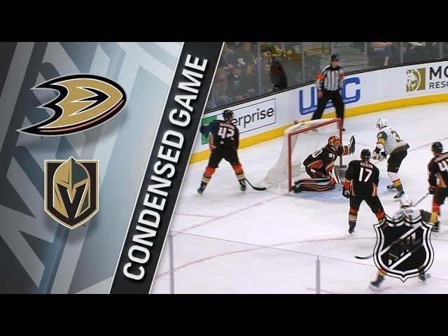 Anaheim Ducks vs Vegas Golden Knights – Feb. 19, 2018