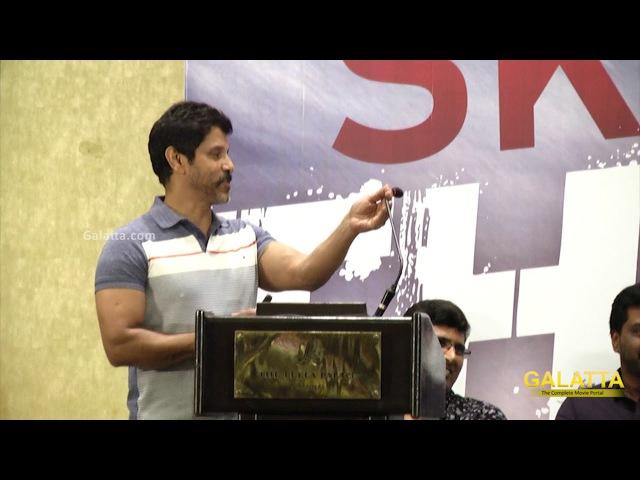 Vikram's New Host Avatar - Sketch Success Meet | Tamannaah | Thaman SS