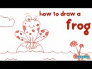 How to draw a Frog Step by Step Guide Learn Drawing for Kids Kid Education by Mocomi Kids