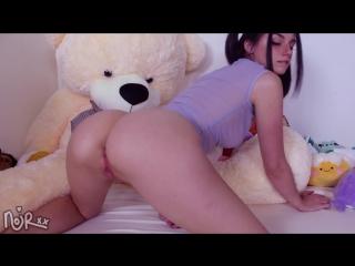 Miss Noir - Cottontail Buttplug (Sex, Amateur, Teen, Webcam, Masturbation, Dildo