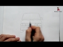 ️Как нарисовать машину Лада Самара ВАЗ-2115 (Ehedov Elnur) Masin resmi nece ceki