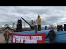 Митинг в Баргузине Мы хотим перемен......