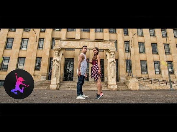 Bailame Remix - Bad Bunny, Nacho, Yandel - Coreografía Por Sandra Fuentes y Jorge Ramirez