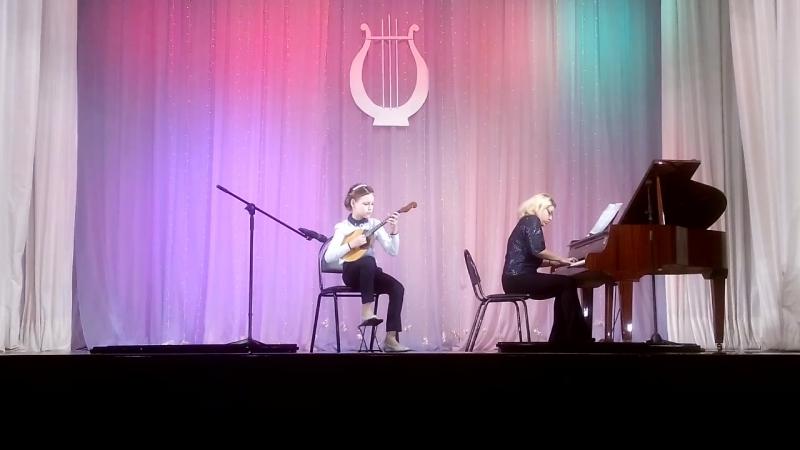 Арина-домра-соло, Лауреат 2степени. г. Балахна, областной конкурс 17.02.2018 г.