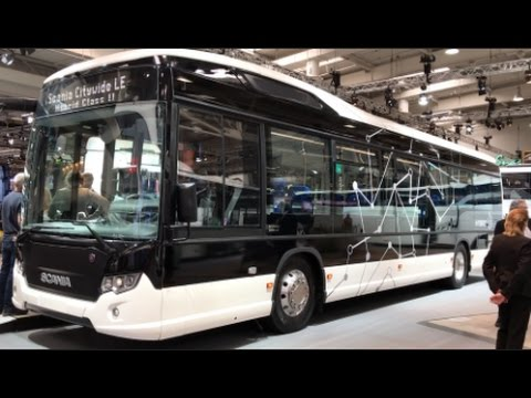 Scania Citywide LE 2016 In detail review walkaround Interior Exterior
