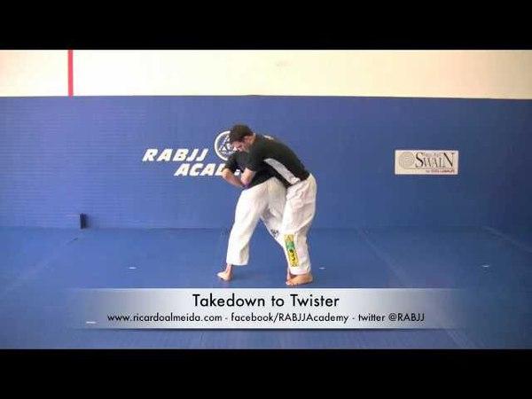 Ricardo Almeida MMA Twister Takedown - RABJJ Hamilton NJ