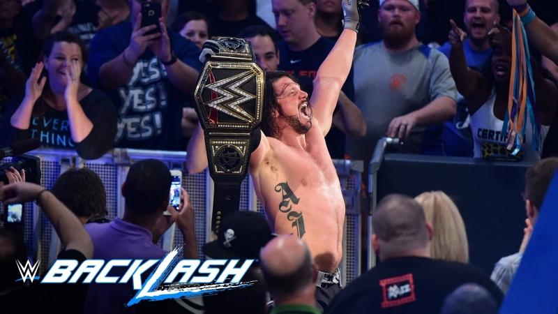 WH_Present AJ Styles vs Dean Ambrose Backlash 2016