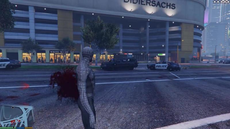 [ScortyShow] ГТА 5 МОДЫ ЧЕРНЫЙ ЧЕЛОВЕК ПАУК ПРОТИВ ВЕНОМПУЛА В GTA 5! ОБЗОР МОДА В GTA 5 ИГРЫ ГТА МИР ВИДЕО GTA 5