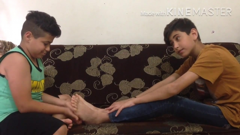 Tickl challenge feet arab