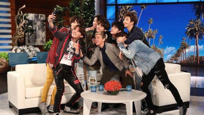BTS Comeback: Behind the Scenes with BTS on Ellen