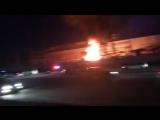 Пожар на подстанции ТЭЦ-2 в Новосибирске (240p).mp4