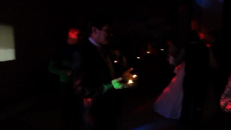 наш свадебный танец и наша песня