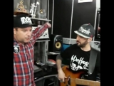 ШЕFF и Mr. Bruce прописывают бас гитару для нового альбома Bad Balance