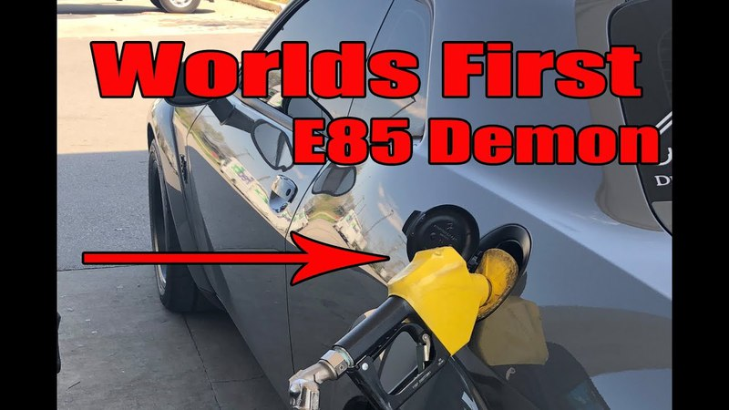 Worlds First Demon on E85 | Warranty gone | Demon gets Riced out