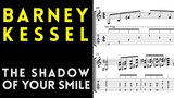 Barney Kessel - The Shadow Of Your Smile (Live Solo Guitar Transcription)