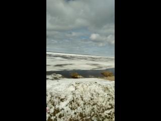 На Печоре ледоход 25.05