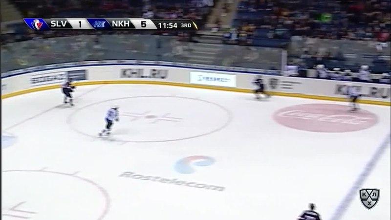 Моменты из матчей КХЛ сезона 17 18 • Гол 2 5 Джонатан Чичу Слован сократил разрыв в счёте 17 10