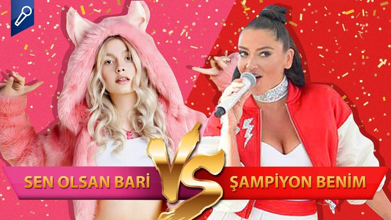 Aleyna Tilki - Sen Olsan Bari mi, Hadise - Şampiyon mu -- Şarkı Şarkıcı Düelloları