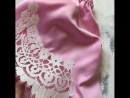 Нежная пижамка в розовом шелке с итальянским кружевом на шортах и майке🌸 Участвует в весенней распродаже Всего 3360 руб🤩 Соста