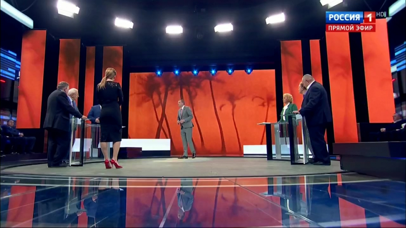 60 минут. США и КНДР: диалог на грани войны [22/09/2017, Ток-шоу, HDTVRip (720p)]