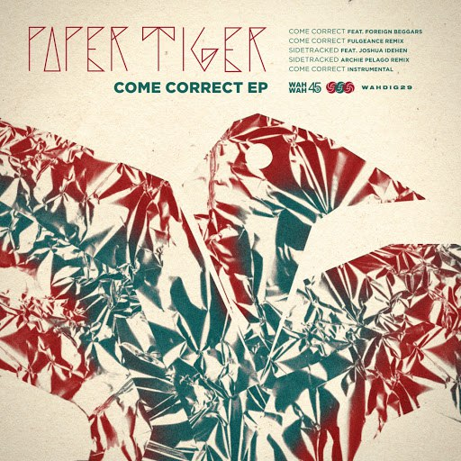 Paper Tiger альбом Come Correct EP