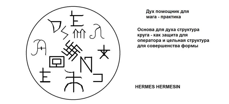 Дух помощник для мага - практика. HERMES HERMESIN AKRp7sUgJDM