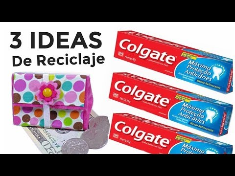 3 Ideas Increíbles de Reciclaje con Cajas de Pasta Dental