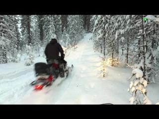 Природа Северной Карелии и заезд по заснеженным трассам Паанаярви