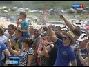 Гонки на тракторах победителем Бизон-Трек-Шоу стал житель Азовского района