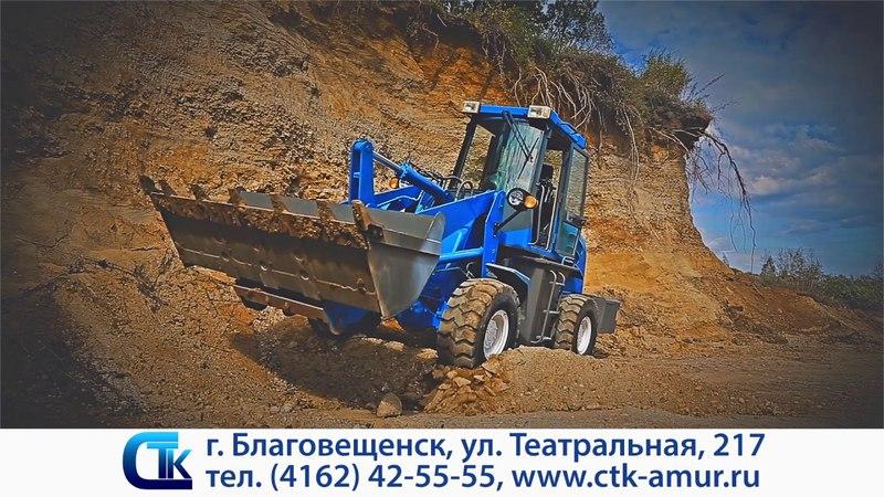 Фронтальные погрузчики СТК ПК20/30/33