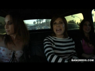 2. Amber Rayne, Britney Stevens, Roma (The Fuck Team Hoopty)