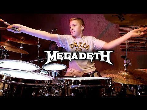 HOLY WARS - MEGADETH - Drum Cover by Avery Drummer