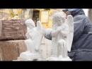 Изготовление скульптуры ангелов из мрамора для памятников