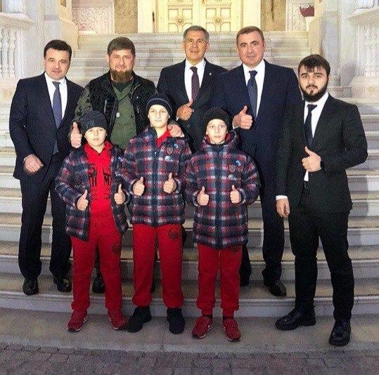 Губернатор Алексей Дюмин посетил Грозный