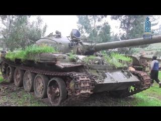Сирия 26 02 2018 Боевики ХТШ захватили базу хранения бронетехники группировки Ахрар аш Шам в провинции Идлиб