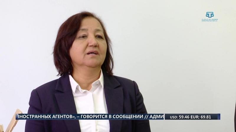 140 книг на крымскотатарском языке передали школе посёлка Исмаил бей в Евпатории