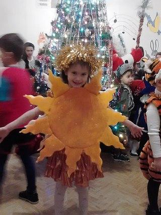 Новогодний костюм КАРАБАС -БАРАБАС. Эскиз, описание