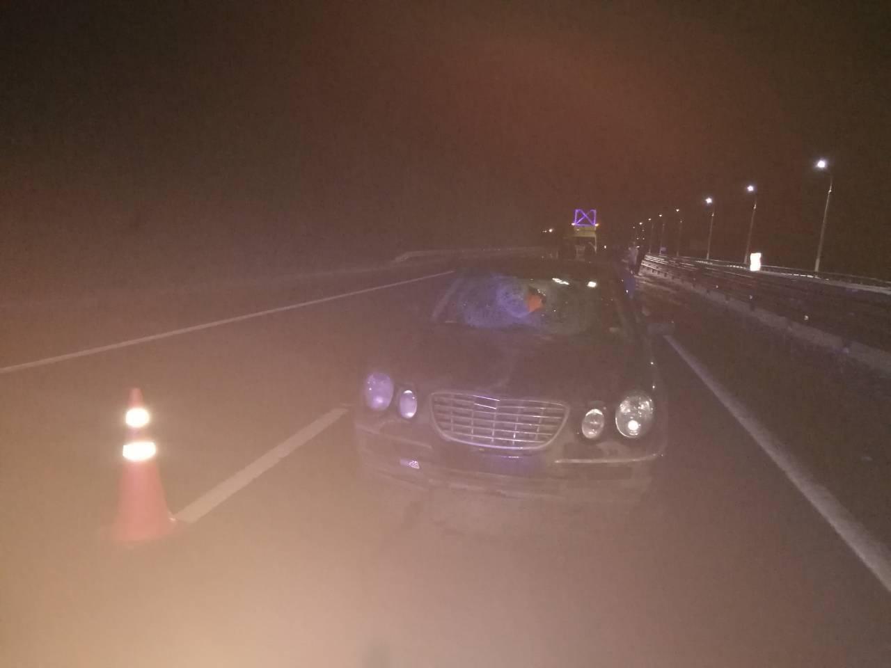 Пешеход получил травмы, несовместимые с жизнью
