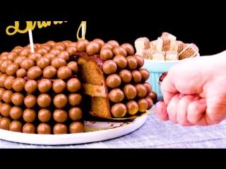 Нежный Шоколадный Торт Пузырьки