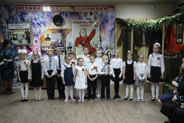 В Краеведческом музее прошла встреча детей войны