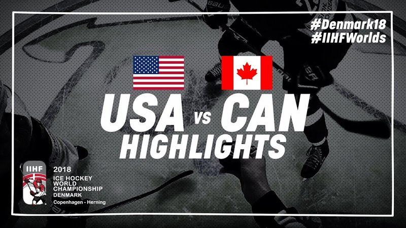 Bronze Medal Game Highlights: United States vs Canada May 20 2018 | IIHFWorlds 2018