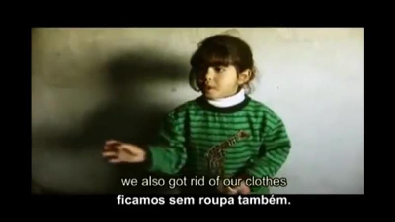 Trecho do Occupation 101 Depoimento de criança palestina