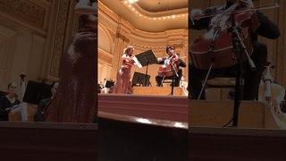 Encore: Julia Fischer & Daniel Müller-Schott at Carnigie Hall March 28, 2018